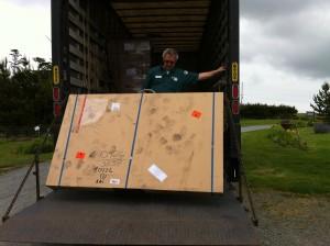 Unloading window