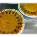 Lavender Pumpkin Pie for you