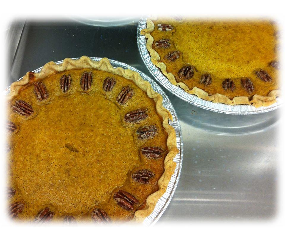 Lavender Pumpkin Pies