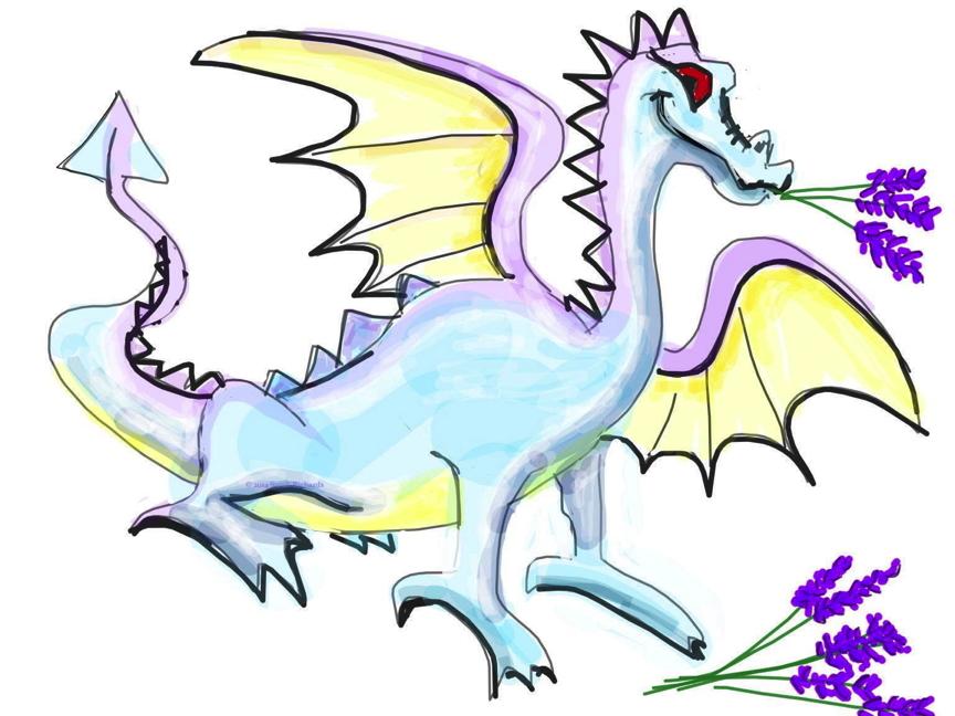 Lavender Dragon
