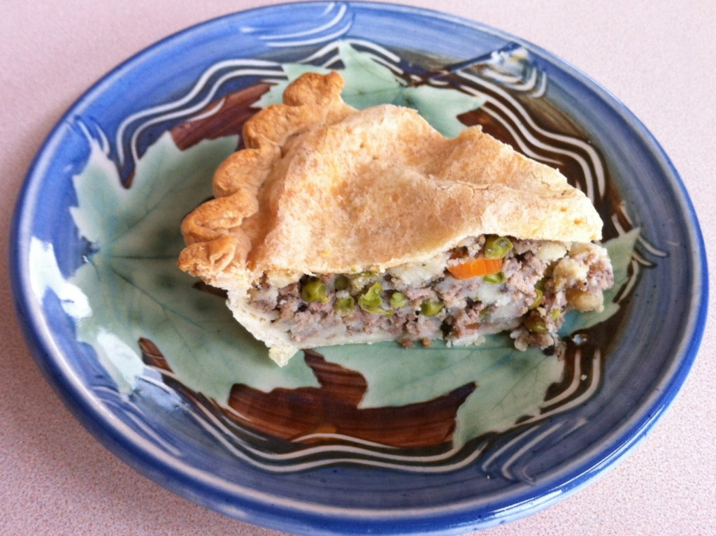 Piece of Tourtiere