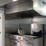 Range and hood - 10 burners and 2 ovens!