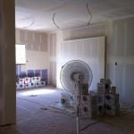 Drying drywall