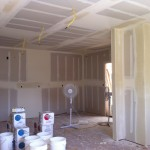More drywall in kitchen