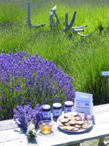 Love Lavender and Food