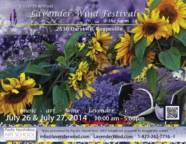 Lavender Wind Festival2014 Poster