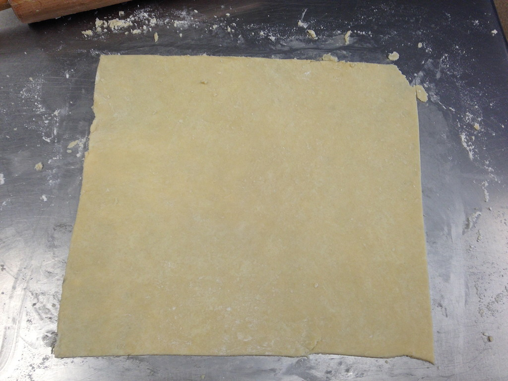 Pie Dough Square