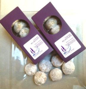 Lavender Pecan Puffs